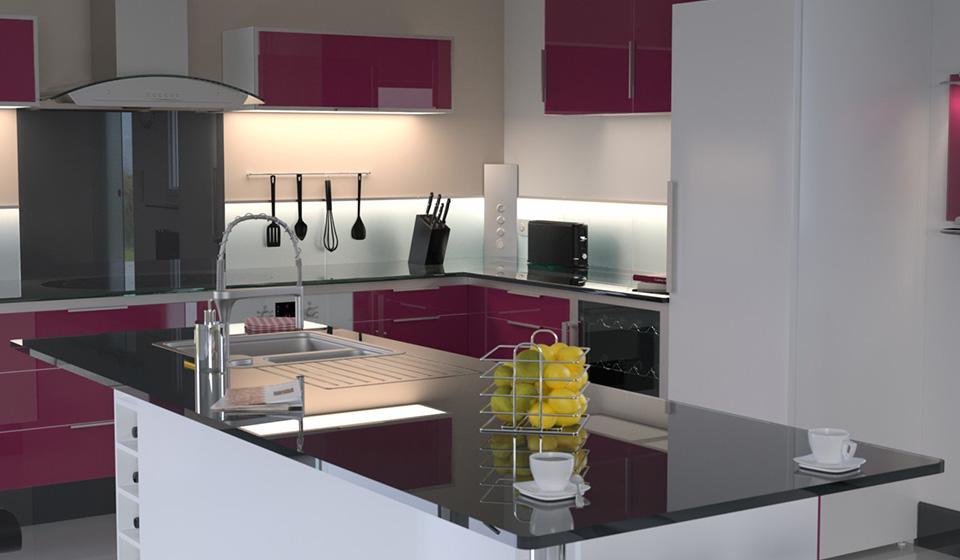 glassolutions revolutionizes kitchens - Glass Kitchen